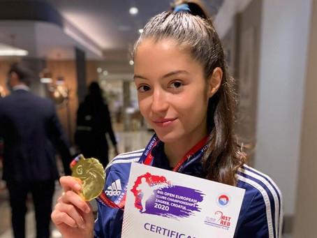 טאקוונדו: מדליית זהב לסמברג באליפות אירופה למועדונים