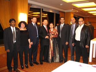 2006-נציגי ההתאחדות אורחי כבוד שגריר קוריאה