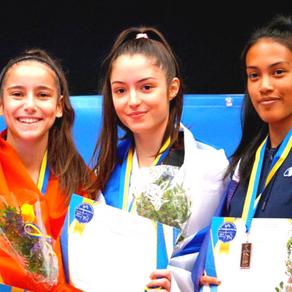 אבישג סמברג, מדליית ארד, אליפות אירופה עד גיל 21 שבדיה 2019