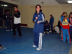 2003-מיכל טרבולוס מדלית ארד אליפות אירופה