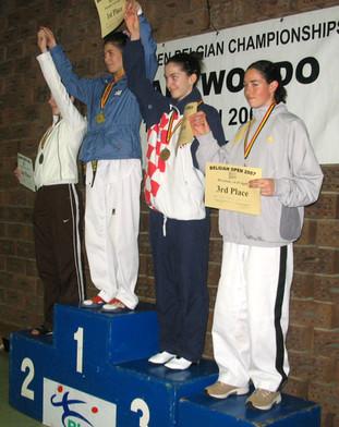 2007-בת-אל גטרר מדלית ארד אליפות בלגיה