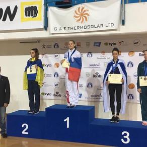 טאקוונדו: ארד לאבישג סמברג באליפות אירופה לנוער