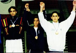 תם חובב, מדליית ארד, אליפות אירופה קפריסין 1999