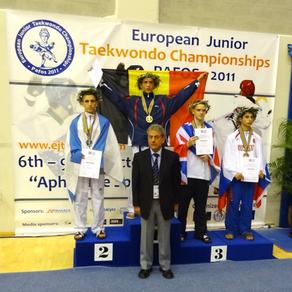 רון אטיאס, מדליית כסף, אליפות אירופה יוון 2011