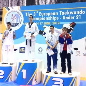 אילן ברגינסקי, מדליית ארד, אליפות אירופה עד גיל 21, יוון 2012