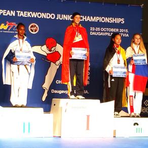 רבקה באיך, מדליית כסף, אליפות אירופה לטביה 2015