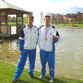 יונתן דהן, מדליית ארד, אליפות אירופה ספרד 2001