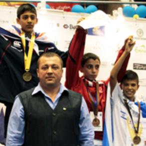 איתמר סלומון, מדליית ארד. אליפות אירופה רומניה 2013