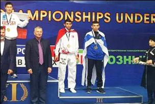 גדי חיימוביץ, מדליית ארד, אליפות אירופה עד גיל 21, רוסיה 2016