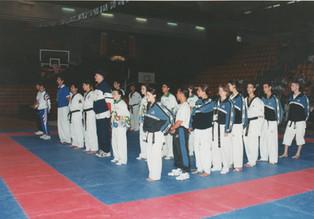 1997-משחקי המכביה הראשונים בטאקוונדו