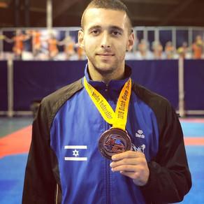 טאקוונדו: איראני לא התייצב - ישראלי זכה במדליה