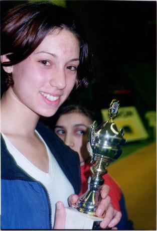 1998-אליה מדר מדליית ארד באליפות הולנד