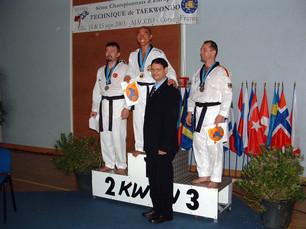 2003-מישל מדר וקי טו דנג באליפות אירופה