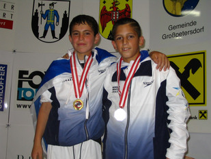 2006-גילי חיימוביץ ורון אטיאס מדליסטים