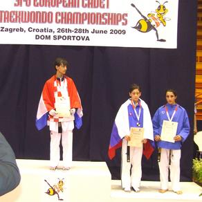 מיכל זריהן, מדליית ארד, אליפות אירופה קרואטיה 2009