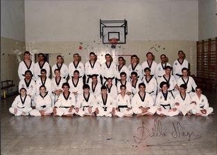 1992-מחנה אימון מישל דלנגרה חבר נבחרת צרפת