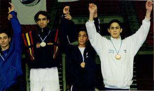 1999-אליפות אירופה לנוער תם חובב מדליית ארד