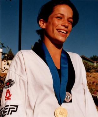 1998-נועה שמידע מדליית כסף באליפות העולם