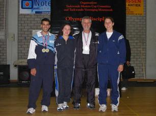 2002-דותן כהן מדליסט באליפות הולנד