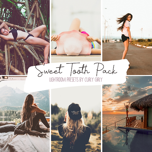 Sweet Tooth Pack ~ Lightroom Mobile Preset Bundle
