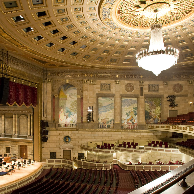 Eastman School Symphony Orchestra Concert - Grant conducts the music of Heinick and Chevalier de Saint George