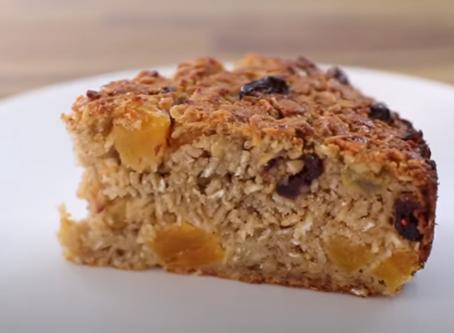 Healthy oatmeal cake