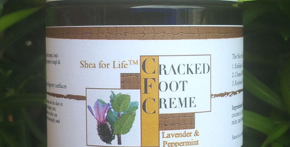 6 Jars of Cracked Foot Cream 1lb