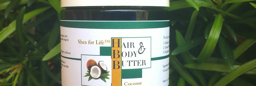 6 Jars of Hair & Body Butter 8oz