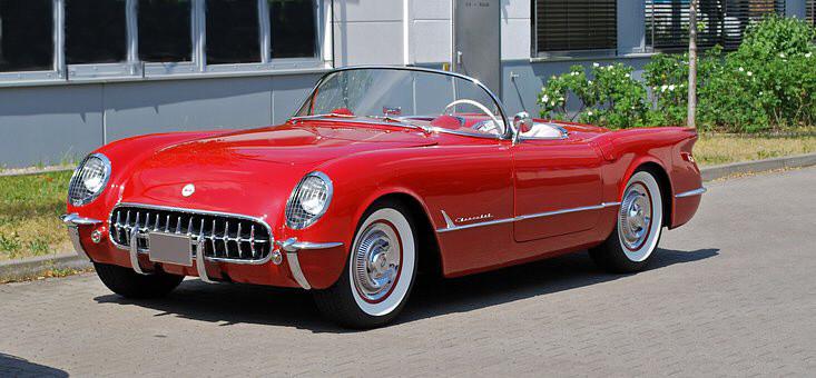 53 - Red Everyone's Dream Corvette