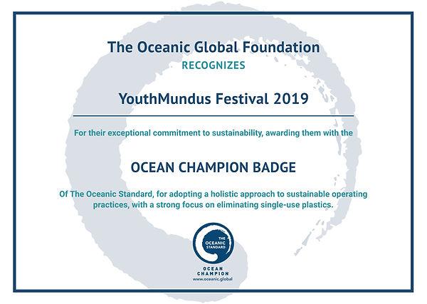 YouthMundus Ocean Champion Certificate.j