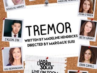 Margaux directs 'Tremor' by Madeline Hendricks