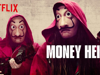 Margaux in Netflix's MONEY HEIST!