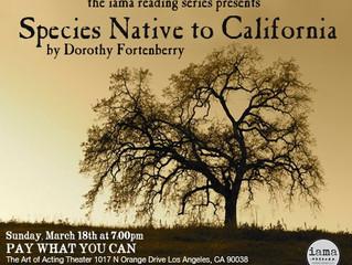 Species Native to California