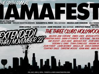 IAMAfest 2015 is Extended thru Nov. 22nd