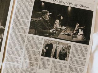 NETFLIX Dubbing in the New York Times!