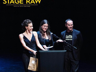 Margaux presents at The 2019 Stage Raw Awards!
