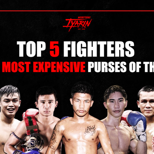 TOP 5 FIGHTERS WITH MOST EXPENSIVE PURSES OF THE ERA