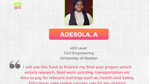 Project 100 FOR 10 Scholarship Beneficiary Report