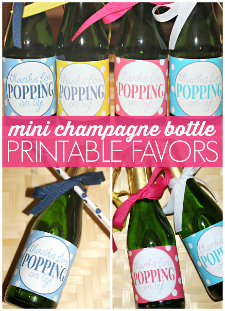 Printable 'Thanks for Popping By' Favor