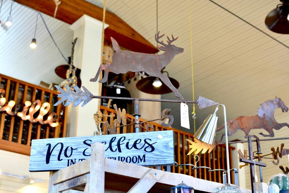 Deer Weathervane Creekside Trading