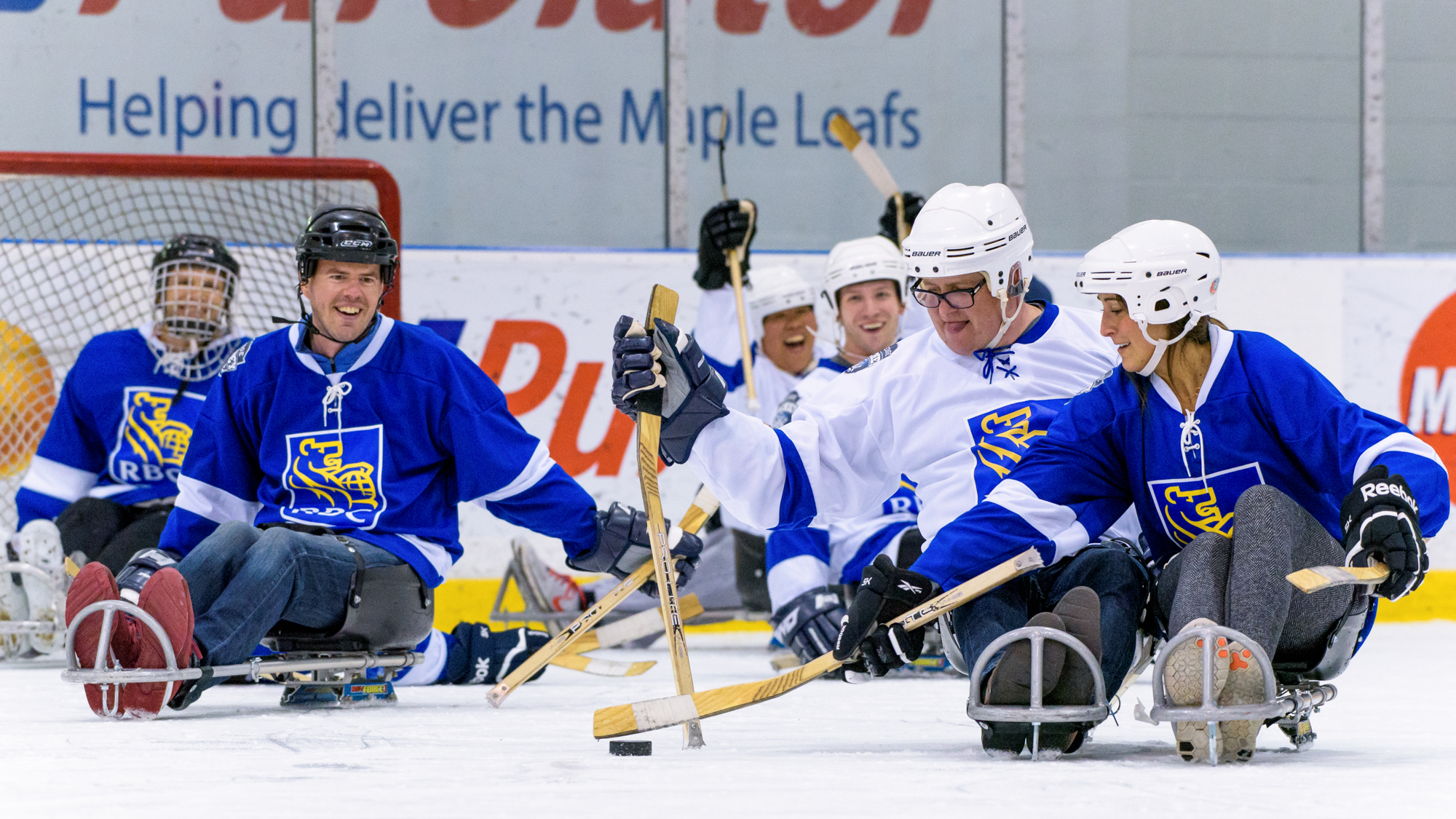 RBC Sledge Hockey Experience