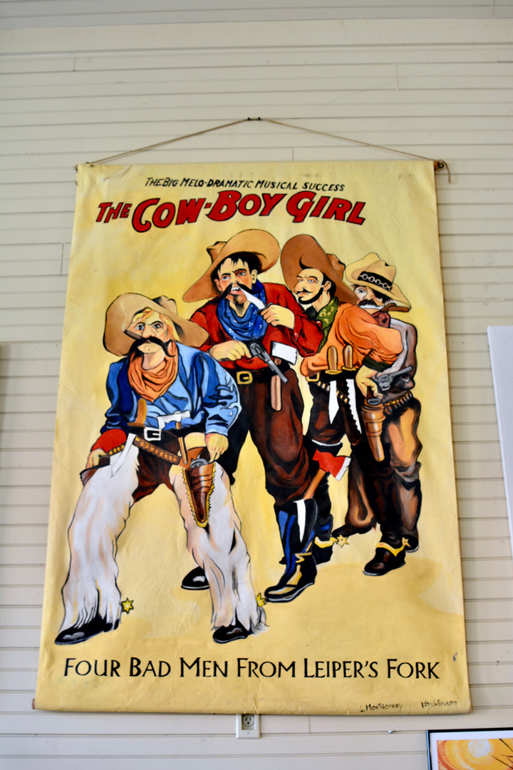 The Cow-Boy Girl Four Bad Men from Leiper's Fork
