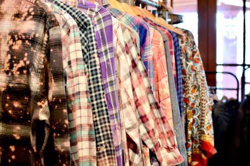 Reverse Dyed Flannels Creekside Trading