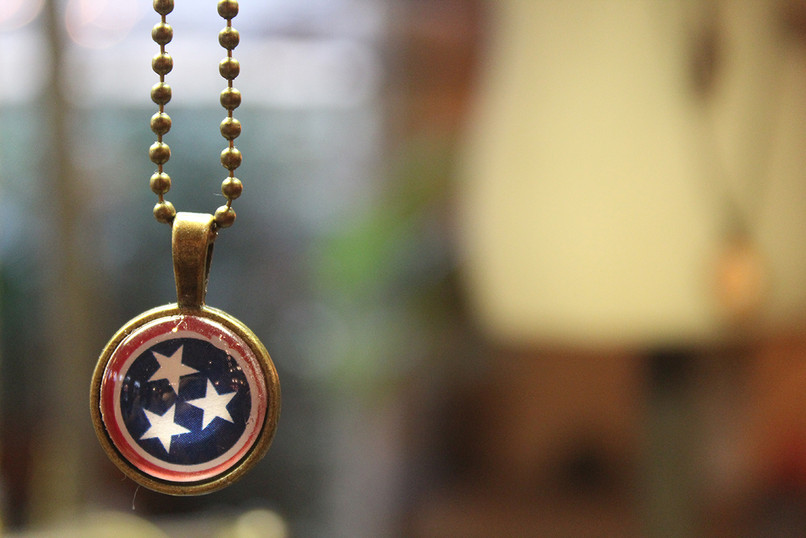 Tennessee Pride necklace