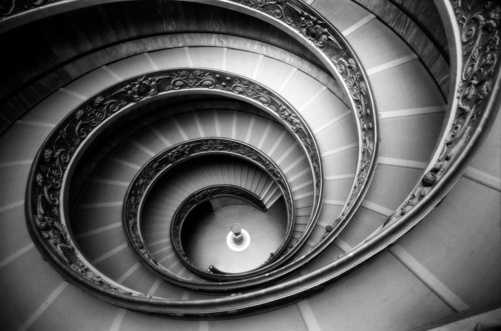 Bramante Staircase, Italy