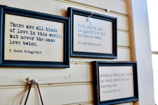 Framed Inspirational Quotes Creekside Trading