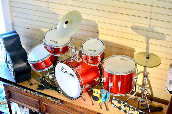 Red Mini Drum Set Creekside Trading