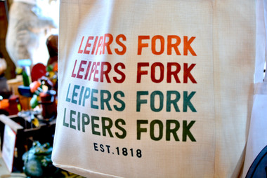 Leiper's Fork Tote Bag Creekside Trading
