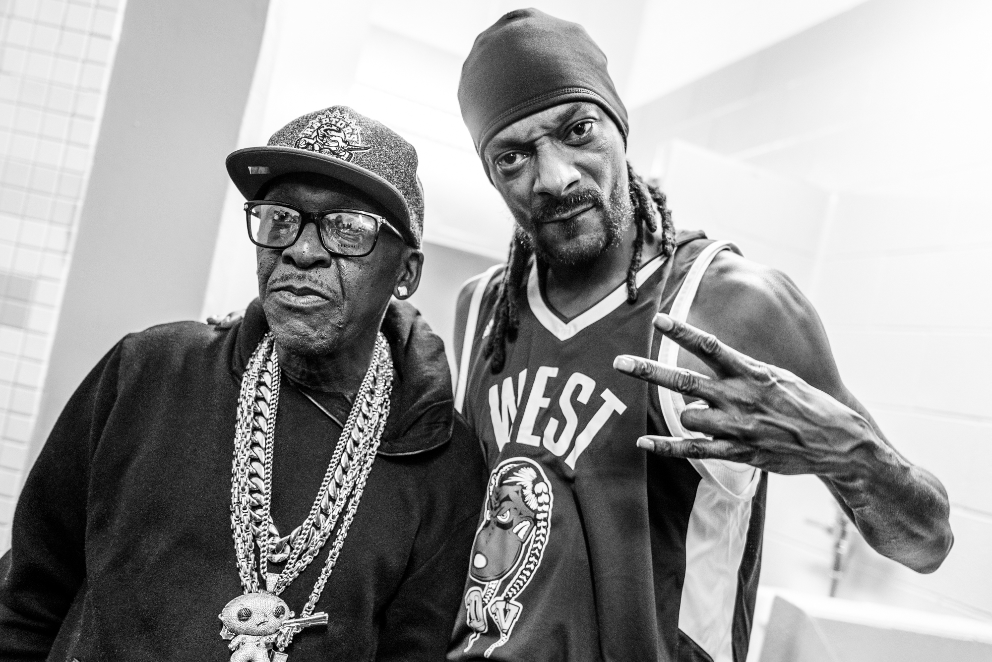 Snoop Dogg NBA All Stars