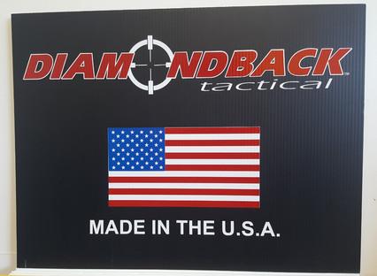 Company Yard sign